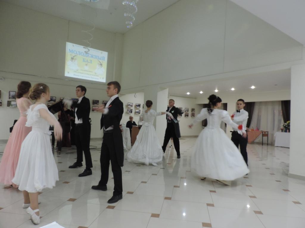 В Новозыбкове прошел первый Тургеневский бал