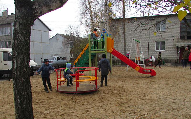 ВБрасовском районе два двора стали комфортными