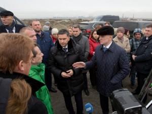 Министра Кобылкина насторожил запах на челябинской свалке