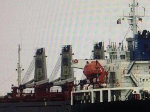 Украина в ответ на санкции России арестовала сингапурское судно с бельгийским грузом