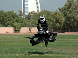 Летающие мотоциклы российского бизнесмена закупает полиция Дубая