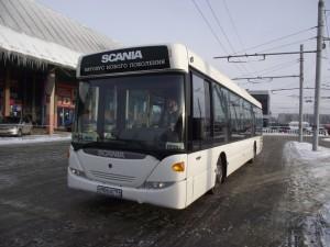 Бастующие автобусники согласились выйти на работу