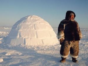 За безопасностью США наблюдают эскимосы на Аляске