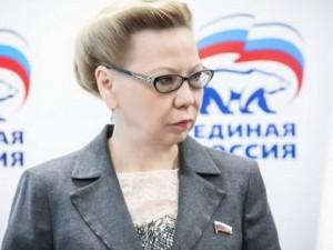 Она голосовала за повышение пенсионного возраста. Депутат Галина Данчикова