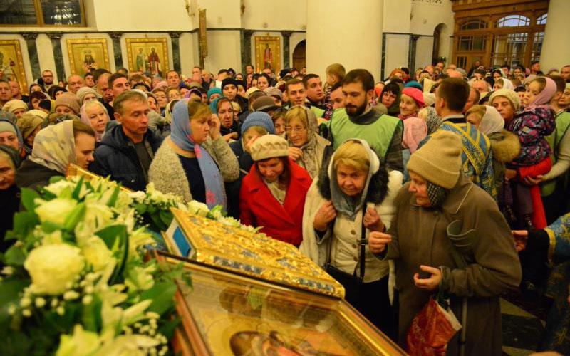 ВБрянске пребывают мощи святителя Луки