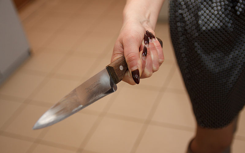 В Клинцах жена в пьяной ссоре зарезала мужа