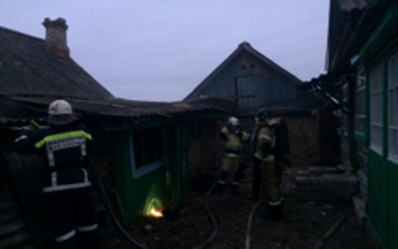 Спожаром вБрасовском районе спасатели справились затри минуты