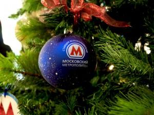 Путин поздравит в новогоднюю ночь пассажиров московского метро