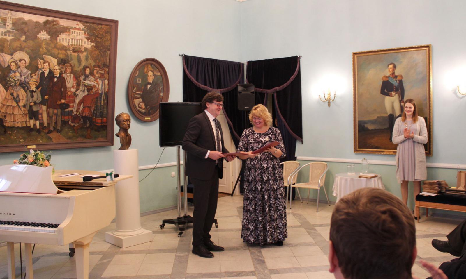 Представители МИД приняли участие в праздновании 215-летия со дня рождения Ф. И. Тютчева