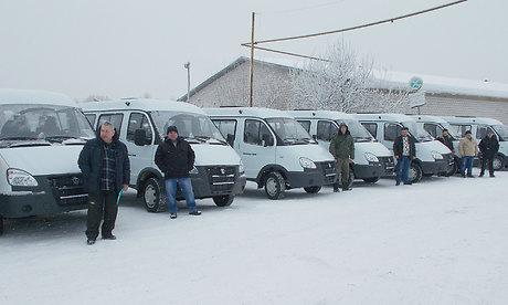 Для социальных учреждений Брянской области закупили 12 автомобилей