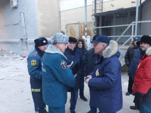 На месте взрыва в Магнитогорске работы будут вестись круглосуточно