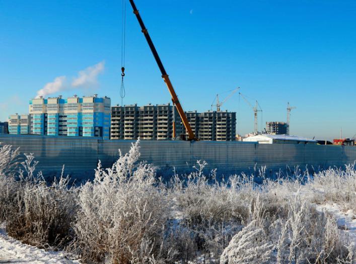 В Брянске на территории бывшего аэропорта строят школу