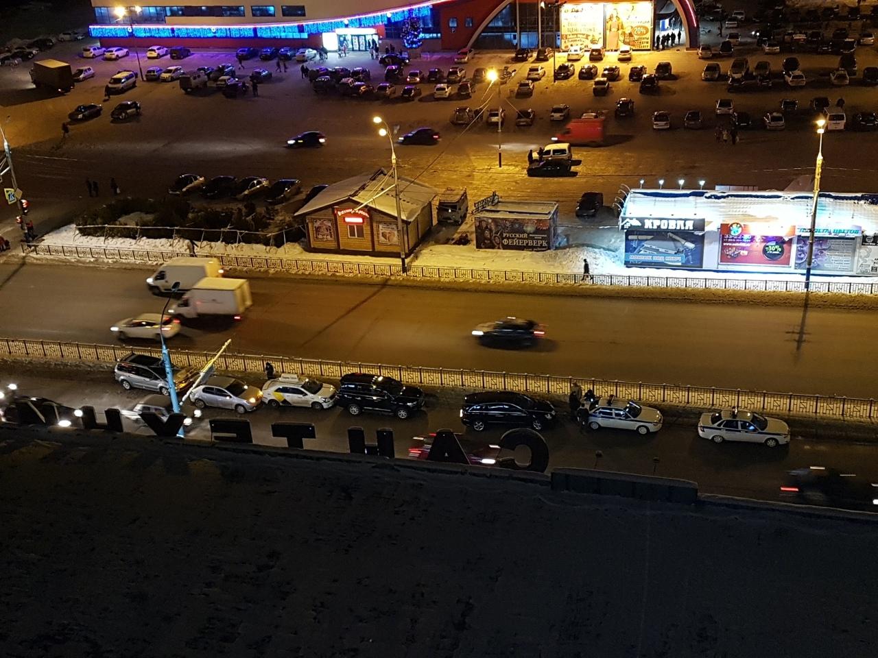 Массовое ДТП в Бежице напротив гипермаркета «Линия»