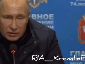 Путин попросил всех за новогодним столом помянуть погибших в Магнитогорске