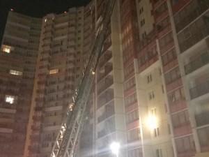Пожар в высотке тушили так, что залили 12 этажей