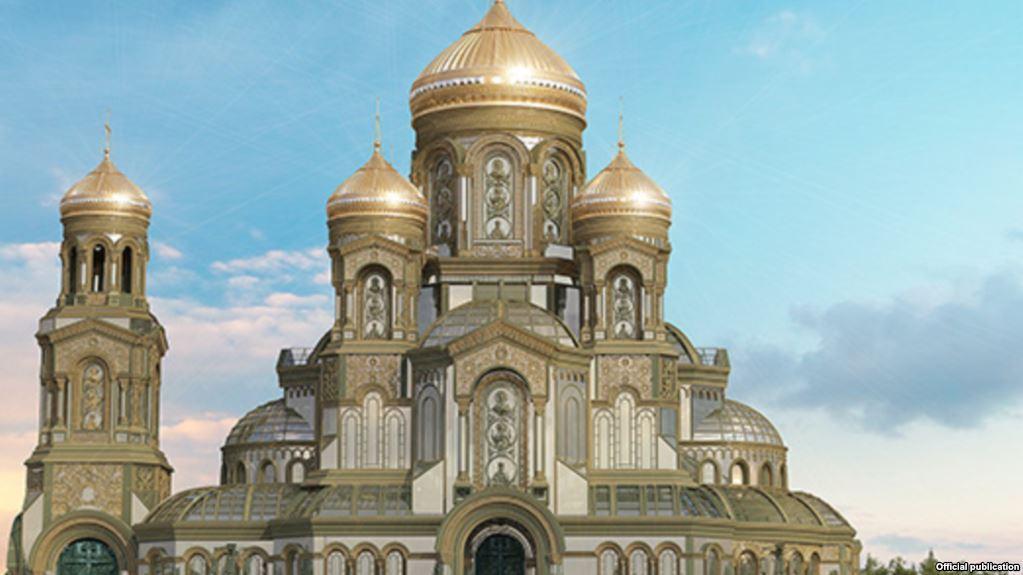 Ступени «главного храма российской армии» отольют из техники вермахта