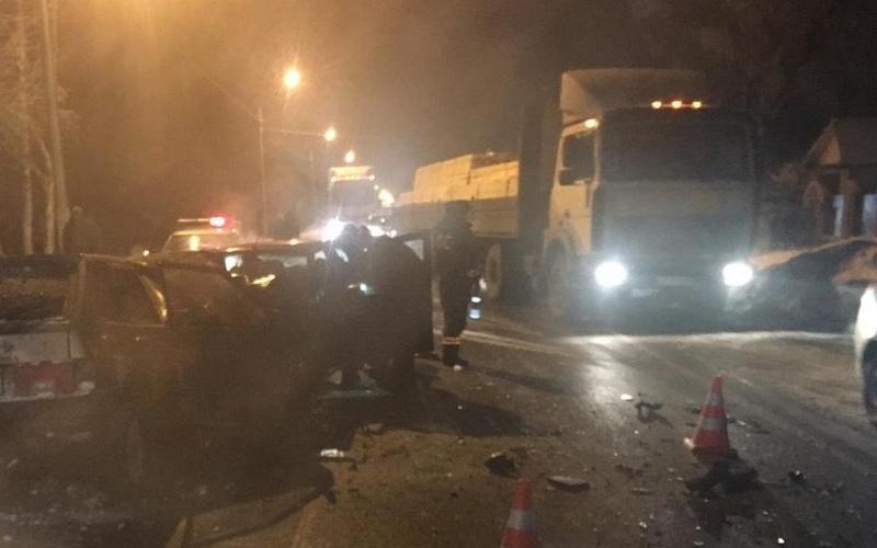 В автокатастрофе под Карачевом ранены двое