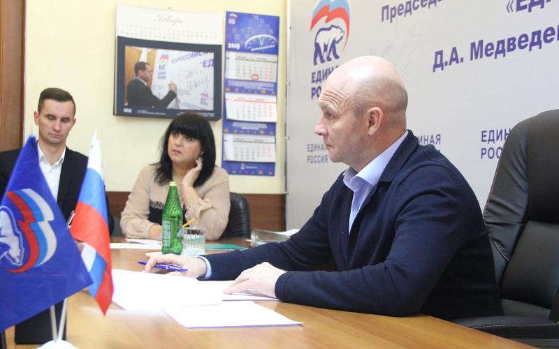 Заместитель брянского губернатора провел прием граждан