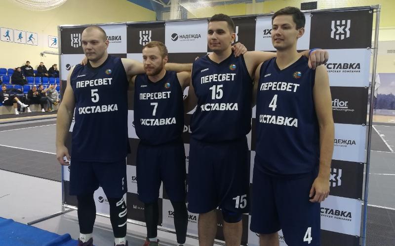 Брянский «Пересвет» стал шестым на домашнем этапе первенства России по стритбаскету
