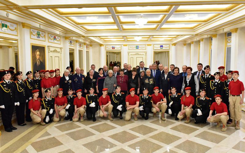 В Брянске прошел торжественный прием в честь Дня Героев России