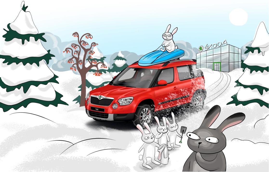 Зимнее предложение от ŠKODA: сервисные работы с выгодой до 40%