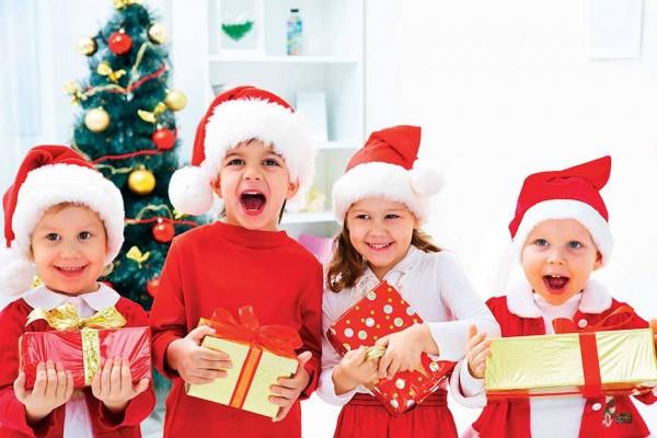 В Шеломах прошла елка для детей