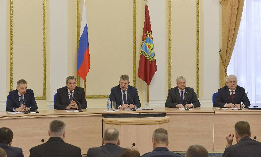 Александр Богомаз провел заседание антитеррористической комиссии