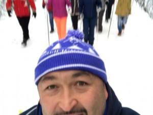 Самый сильный человек России вывел челябинцев на мороз