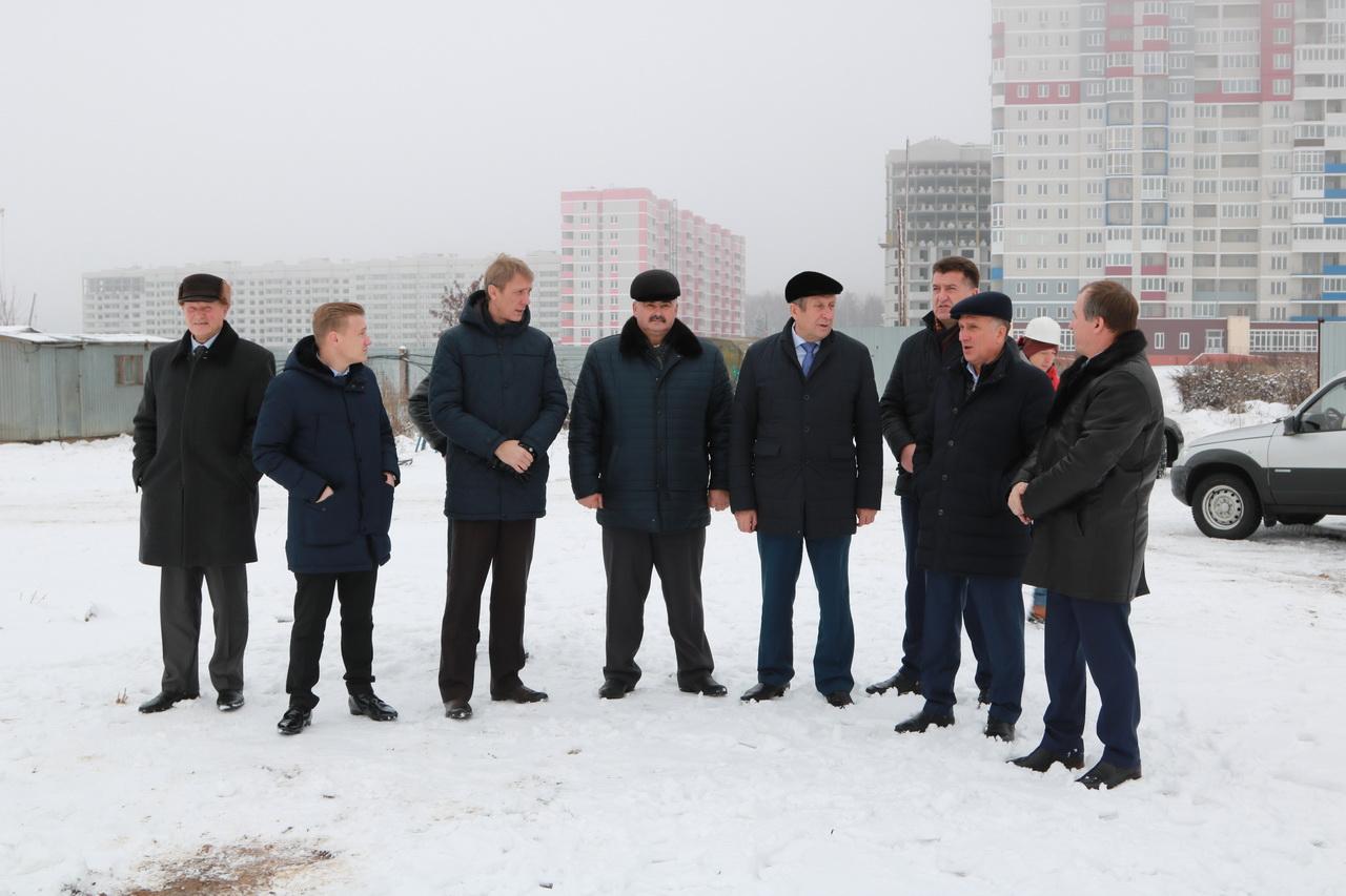 Новые подробности строительства школы в Брянске