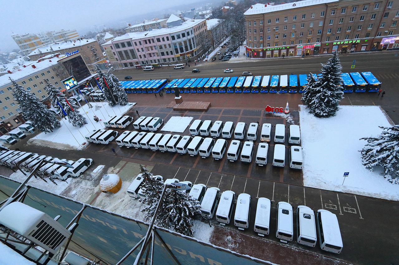 В Брянской области станет на 36 автобусов больше