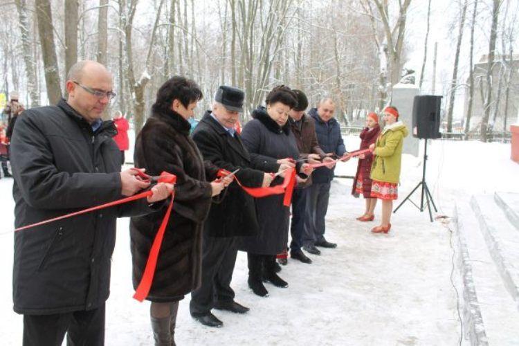 В Погарском районе открыли обновленный Дом культуры