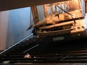 Водителю автобуса, въехавшего в Москве в подземный переход, дали четыре года колонии