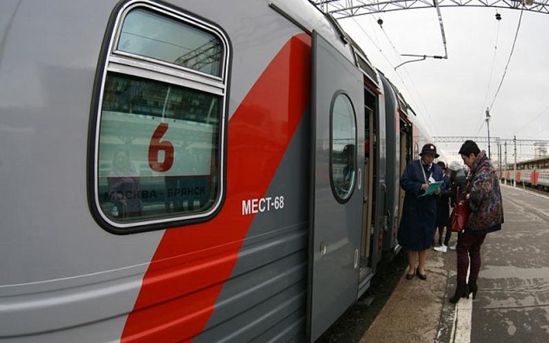 В декабре из Брянска в Москву пустят еще один поезд