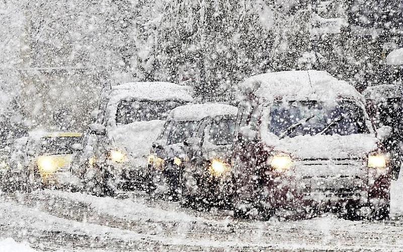 Брянскую область в ночь на воскресенье накроет сильный снегопад