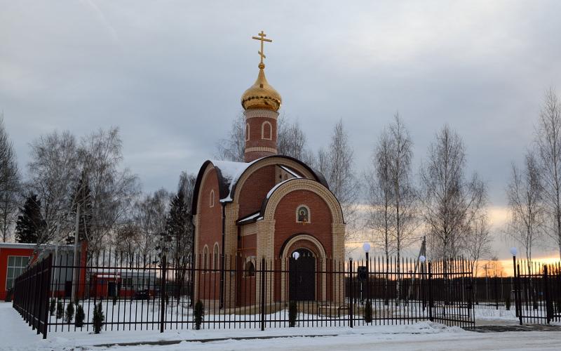 В Почепском районе открыли храм во имя князя Димитрия Донского