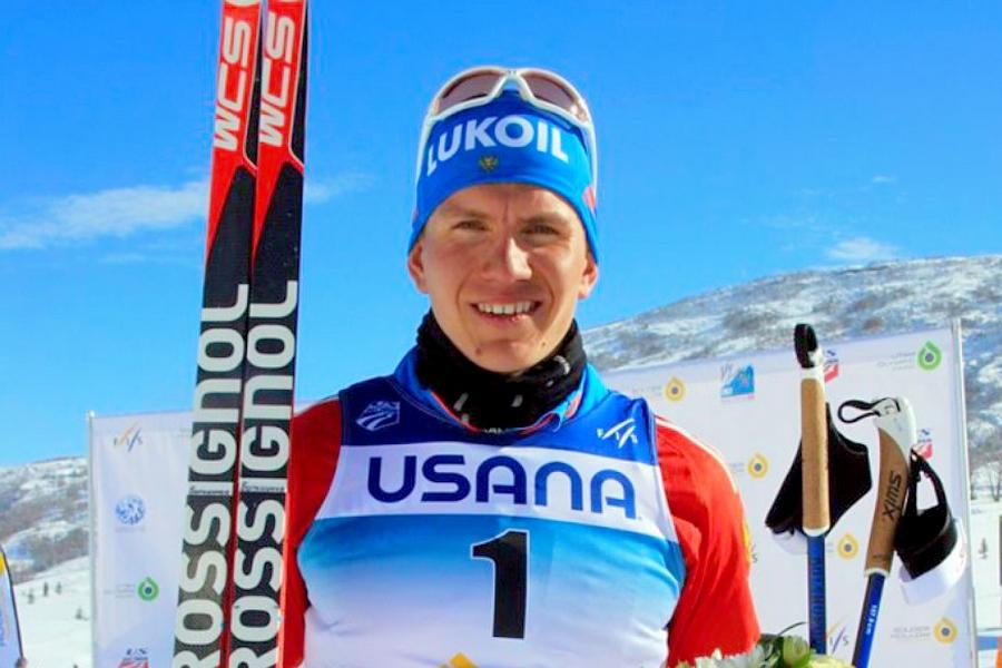 Брянский лыжник Большунов взял серебро на этапе кубка мира