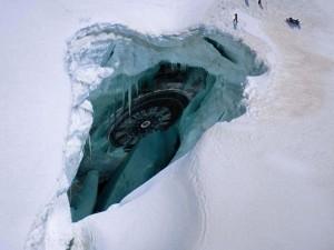 Уральский исследователь нашел в Антарктиде следы крушения НЛО