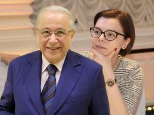 Евгений Петросян с Татьяной Брухуновой улетели в Барселону