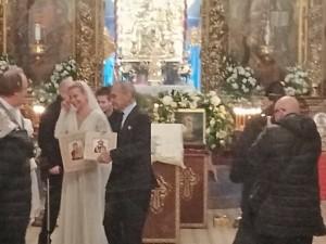 Кончаловского и Высоцкую обвенчал духовник Путина