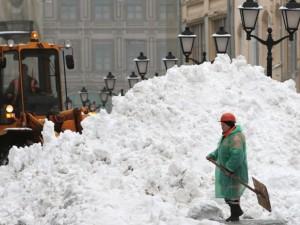 Мощный снегопад накроет Москву