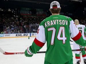 Виталий Кравцов на Неделе звезд хоккея 5 раз попал в штангу