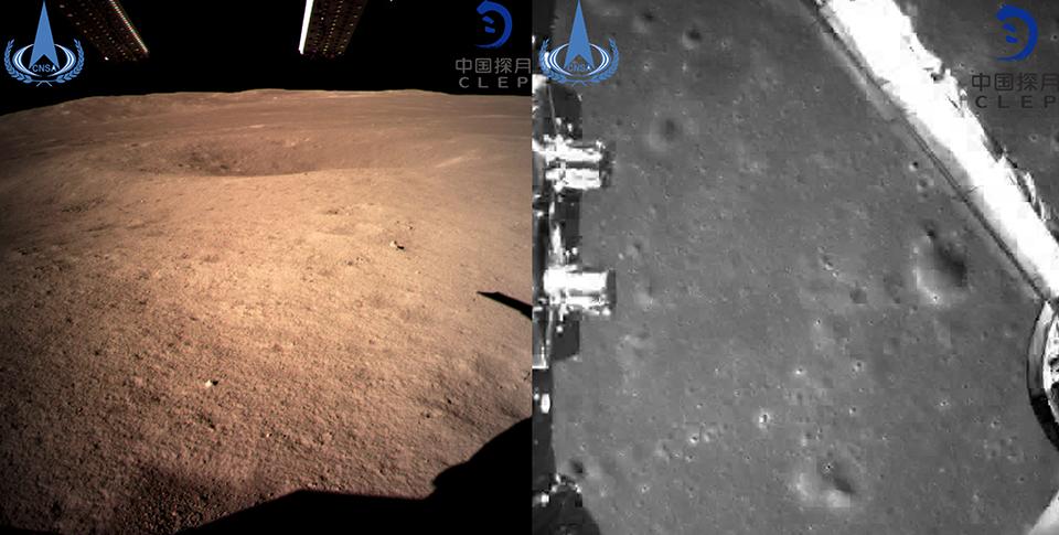 Человечество впервые добралось до обратной стороны луны
