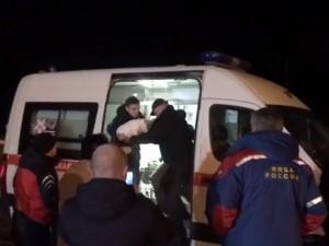 Спасенного из-под завалов Ваню Фокина доставили в клинику Рошаля