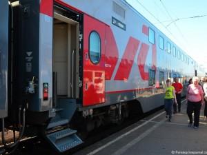 По Крымскому мосту пустят двухэтажный поезд