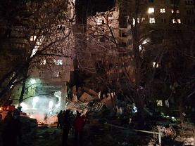 Спасатели продолжают находить под завалами подъезда в Магнитогорске тела погибших людей