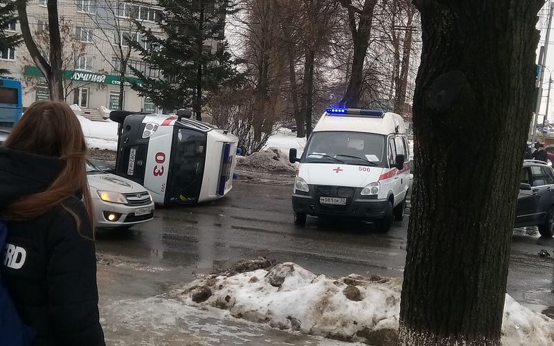 В Брянске в ДТП с участием «скорой» никто не пострадал