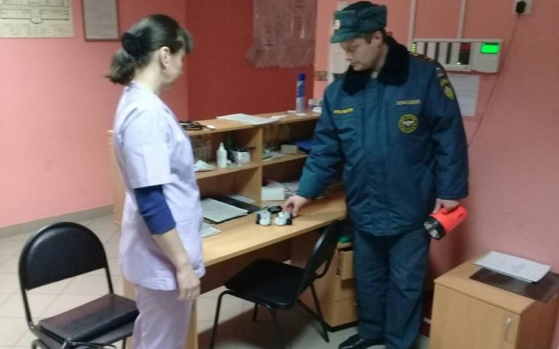 Из Злынковской больницы эвакуировали медиков и пациентов