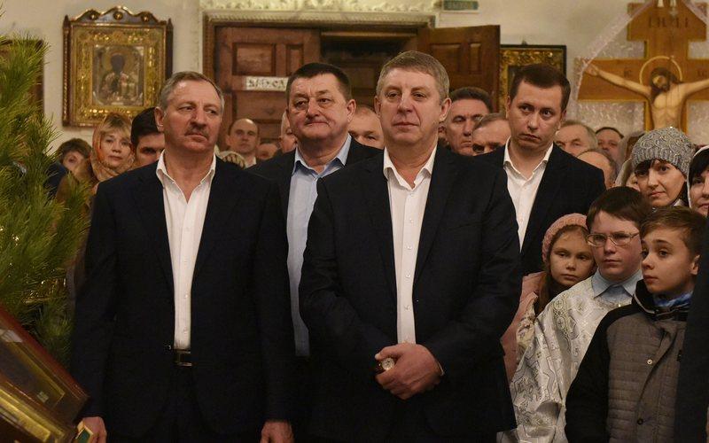 Брянский губернатор встретил Рождество в Клинцах