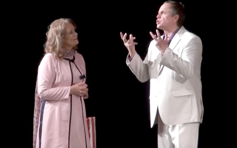 Ирина Алферова и Андрей Соколов решили рассмешить брянцев