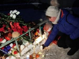 В день траура в Челябинской области работы по разбору завалов не прекращаются
